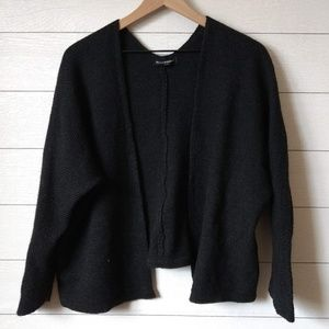 Brandy Melville Gray Open Front Cardigan OS